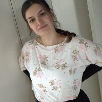 Ny bluse og en påskeferie venter forude