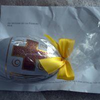 Et påskeæg gemte pakken på posthuset