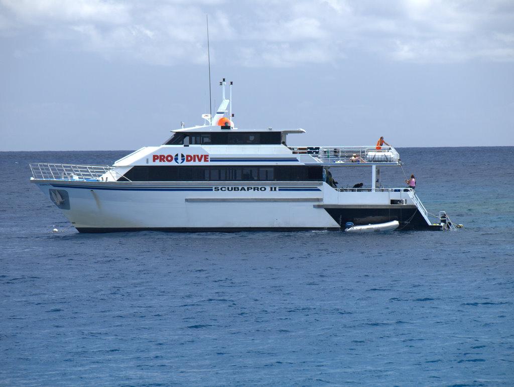 Vores båd var en ScubaProIII men ellers er de vist ens.