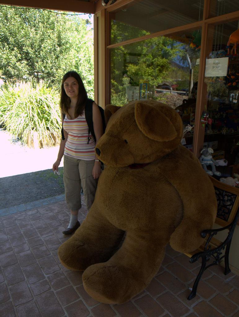 En rigtig stor bamse!