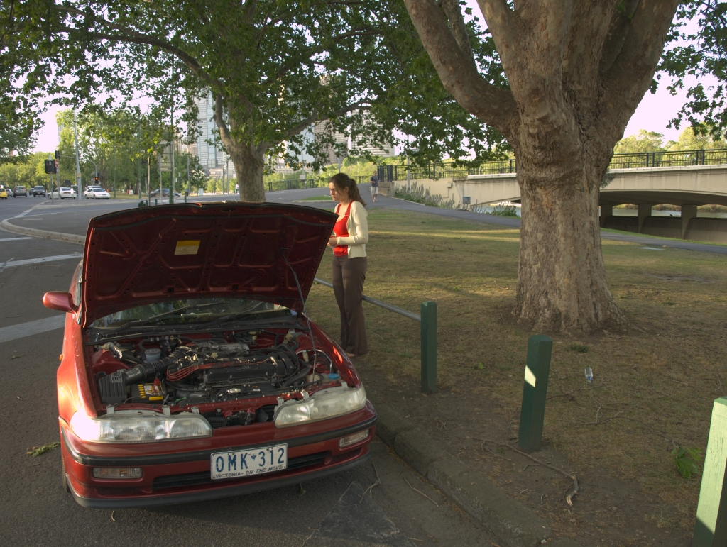 Vores bil ville ikke mere - møgspand!