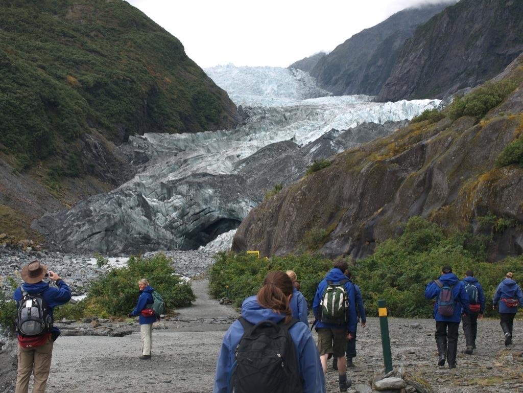 Franz Josef-gletscheren.