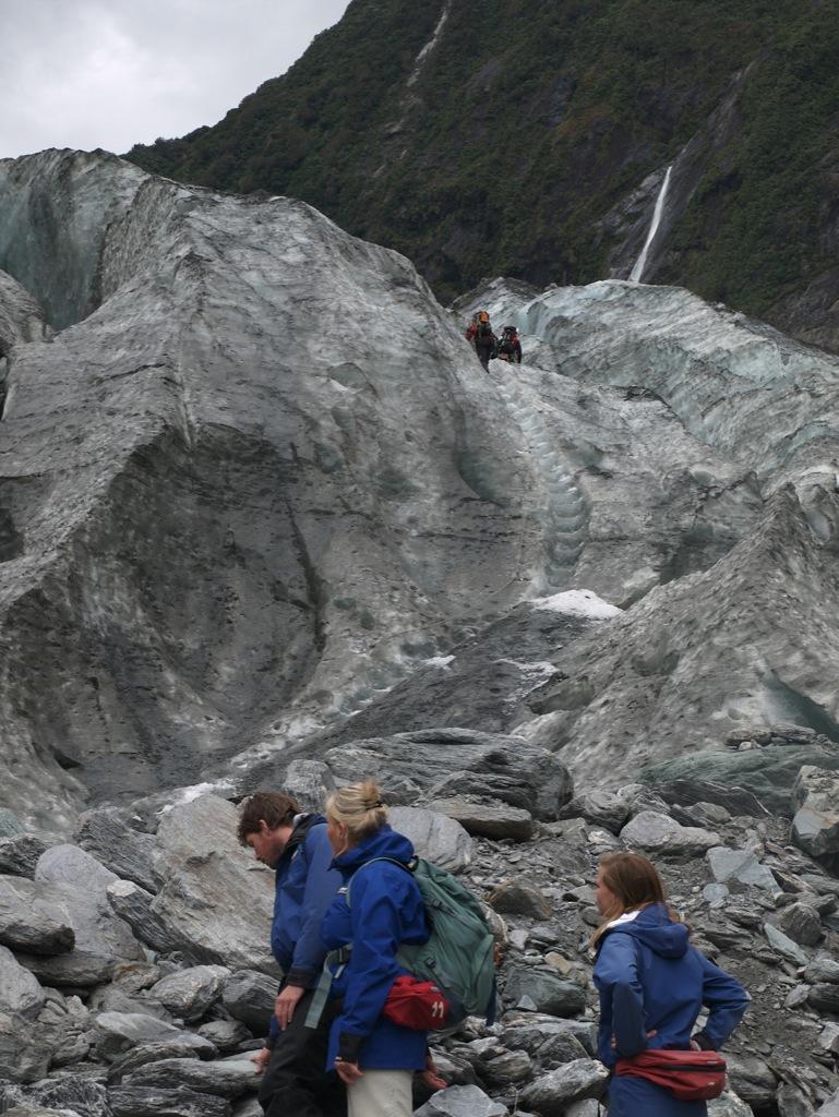 Start på gletschervandring.