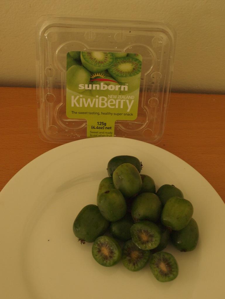 Kiwibær (Kiwiberry).