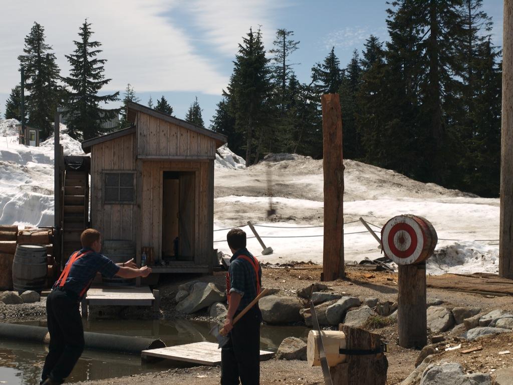 Lumberjackshow.