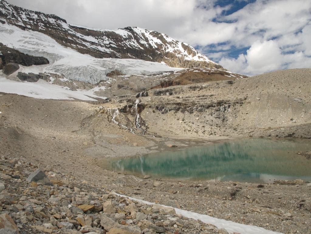 En fin lille gletschersø.