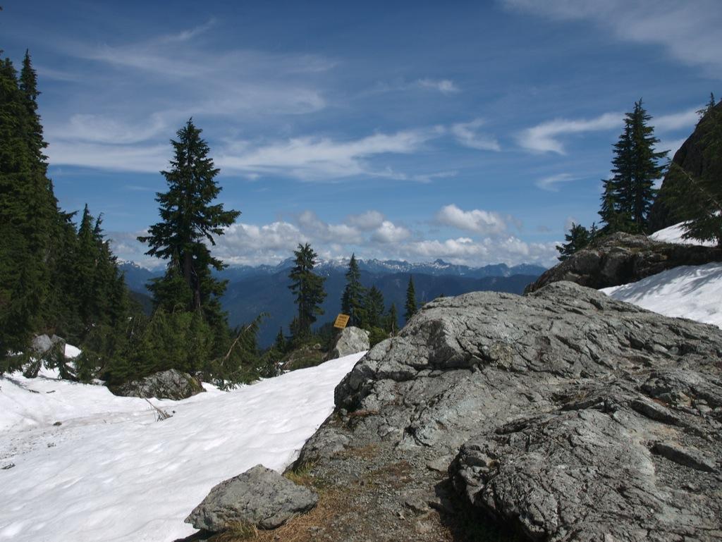 Udsigt fra Mount Seymour.