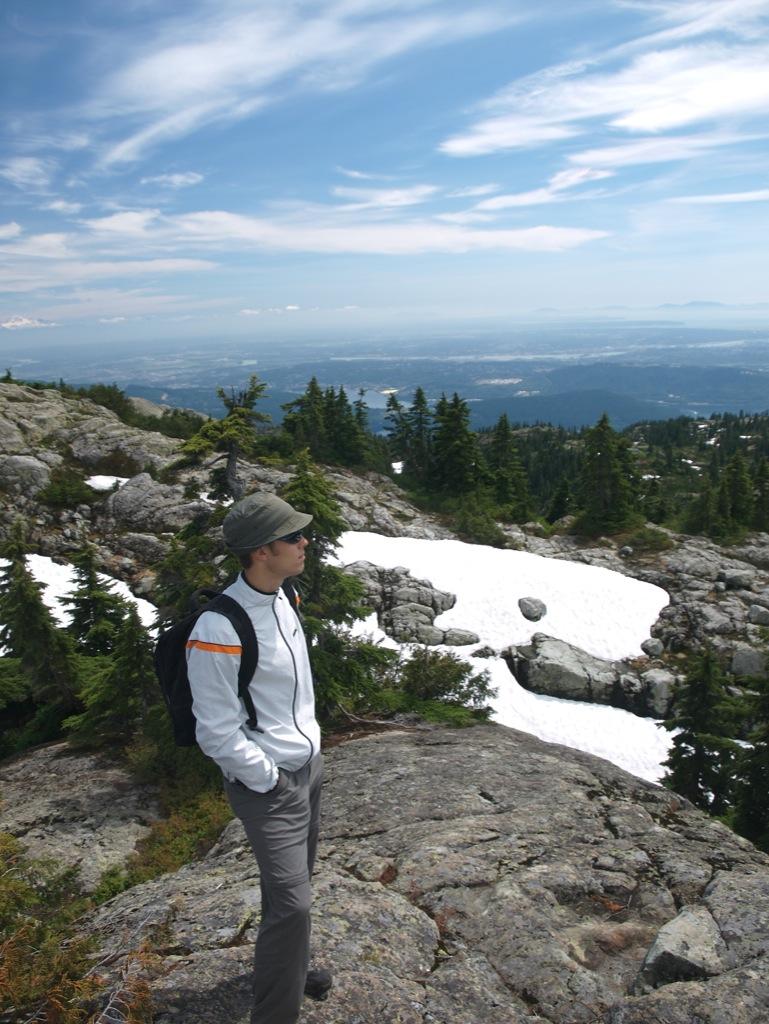 Anders på Mount Seymour.