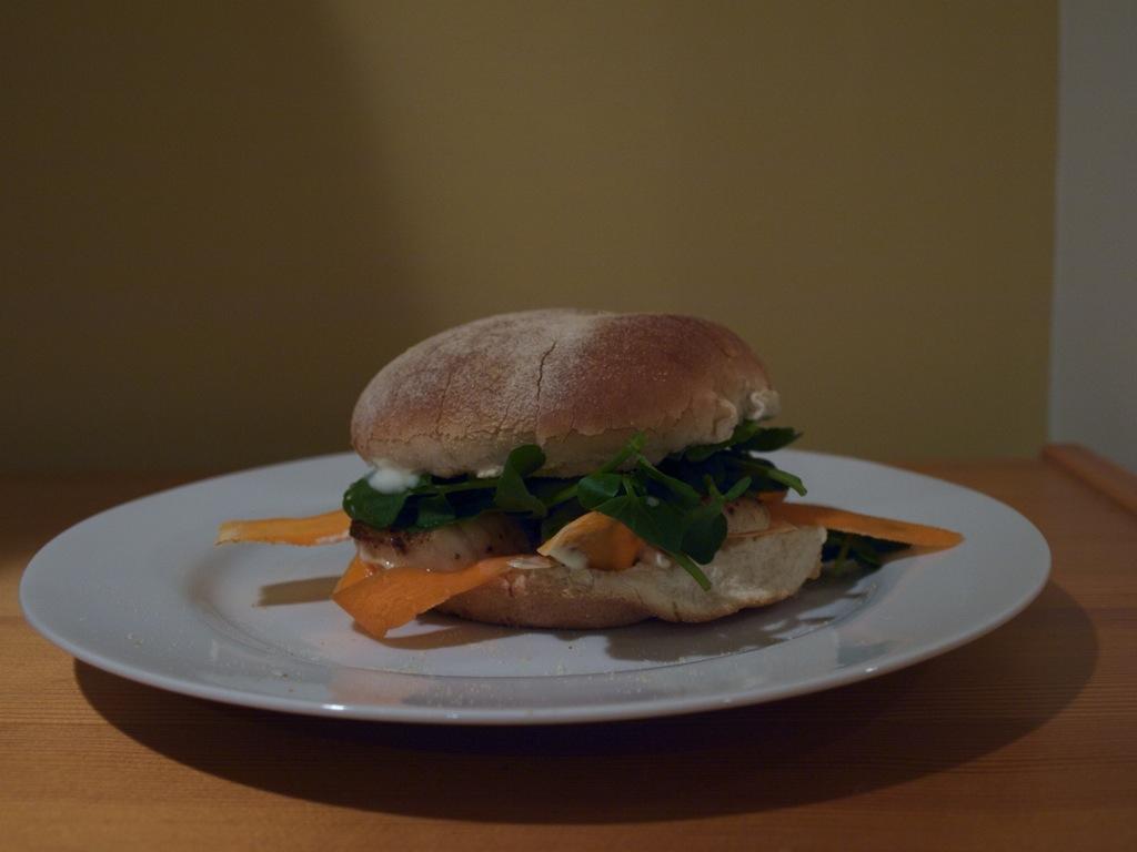 Kammuslingeburger 1