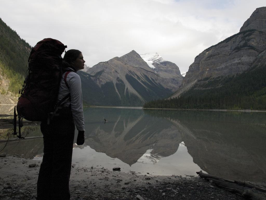 Spejling ved Kinney Lake.
