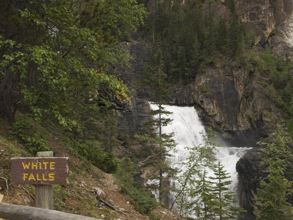 Vores første vandfald, White Falls.