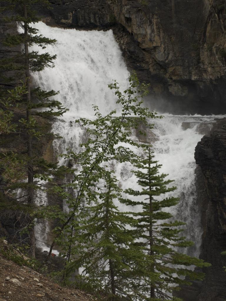 White Falls lidt tættere på.