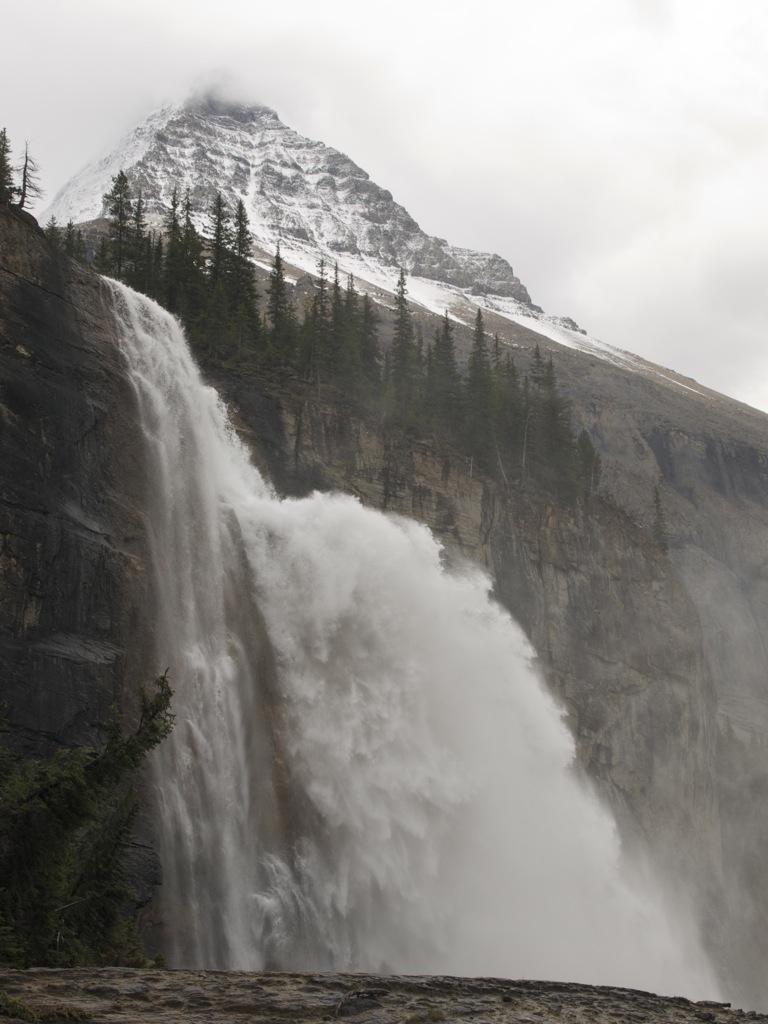 Emperor Falls tæt på; sikke imponerende.