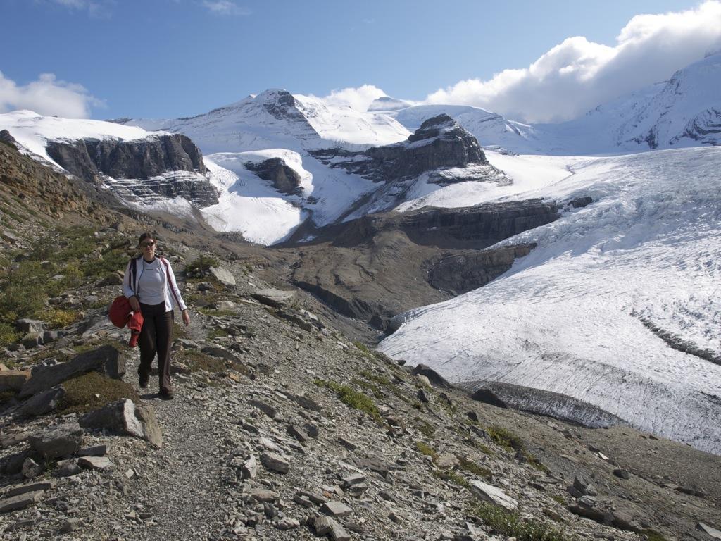 Så er vi ved gletscheren igen.