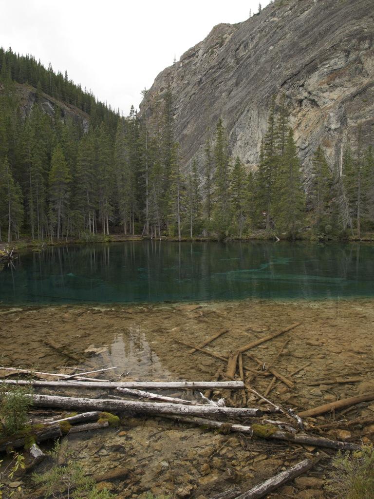 En af the Grassi lakes.