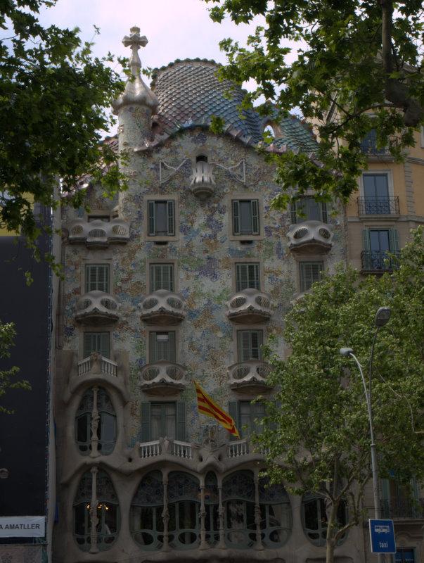Casa Batlló ude fra.