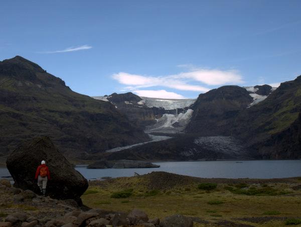 Morsárdalur-gletscheren