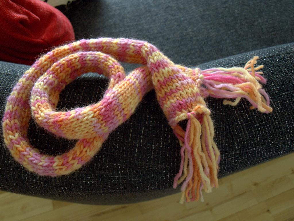Lille halstørklæde.