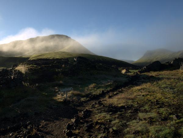Et sidste, hvor tågen letter.