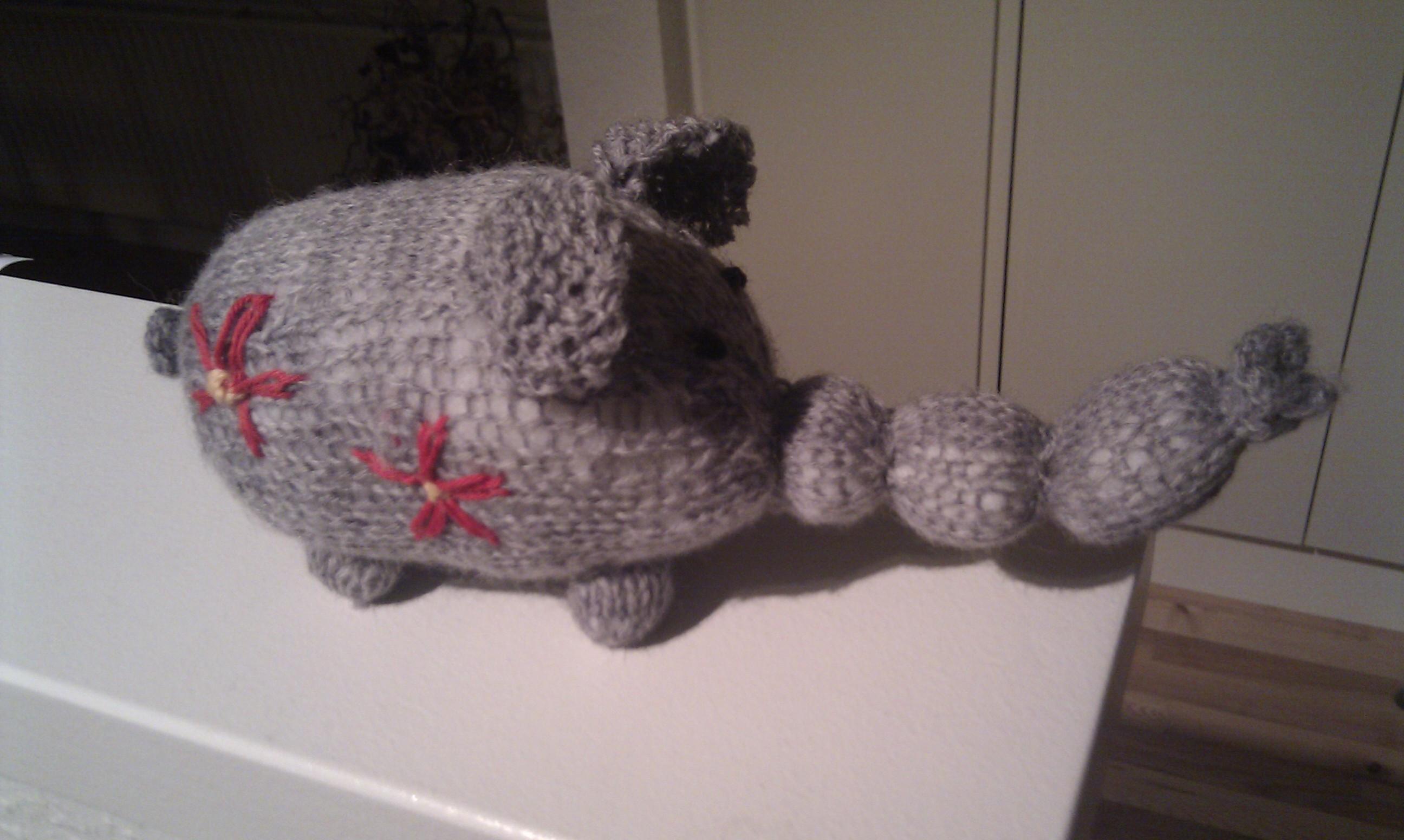 Snøfle, den strikkede elefant