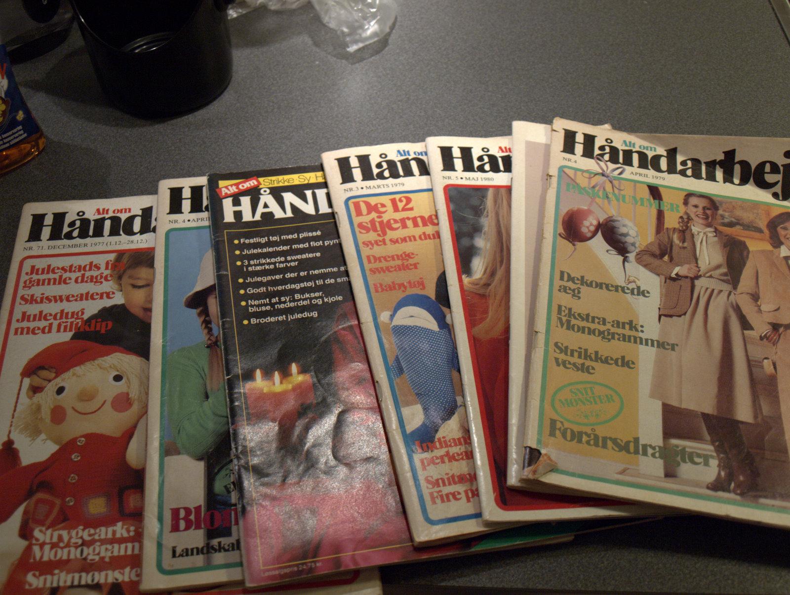 Lidt lånte, gamle håndarbejdsblade