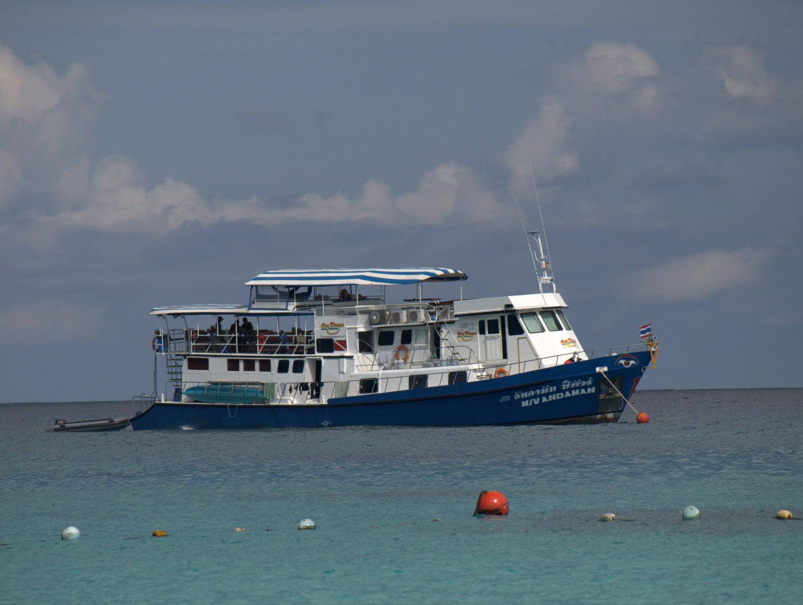Andaman - vores skib