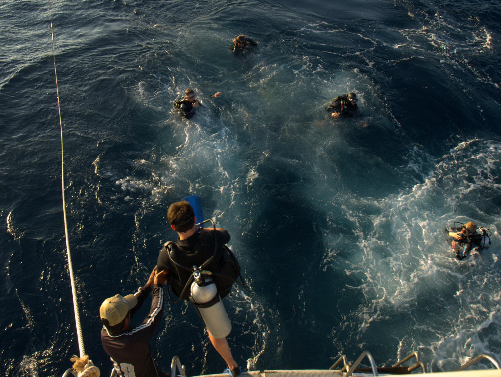 Ned i det dybe hav