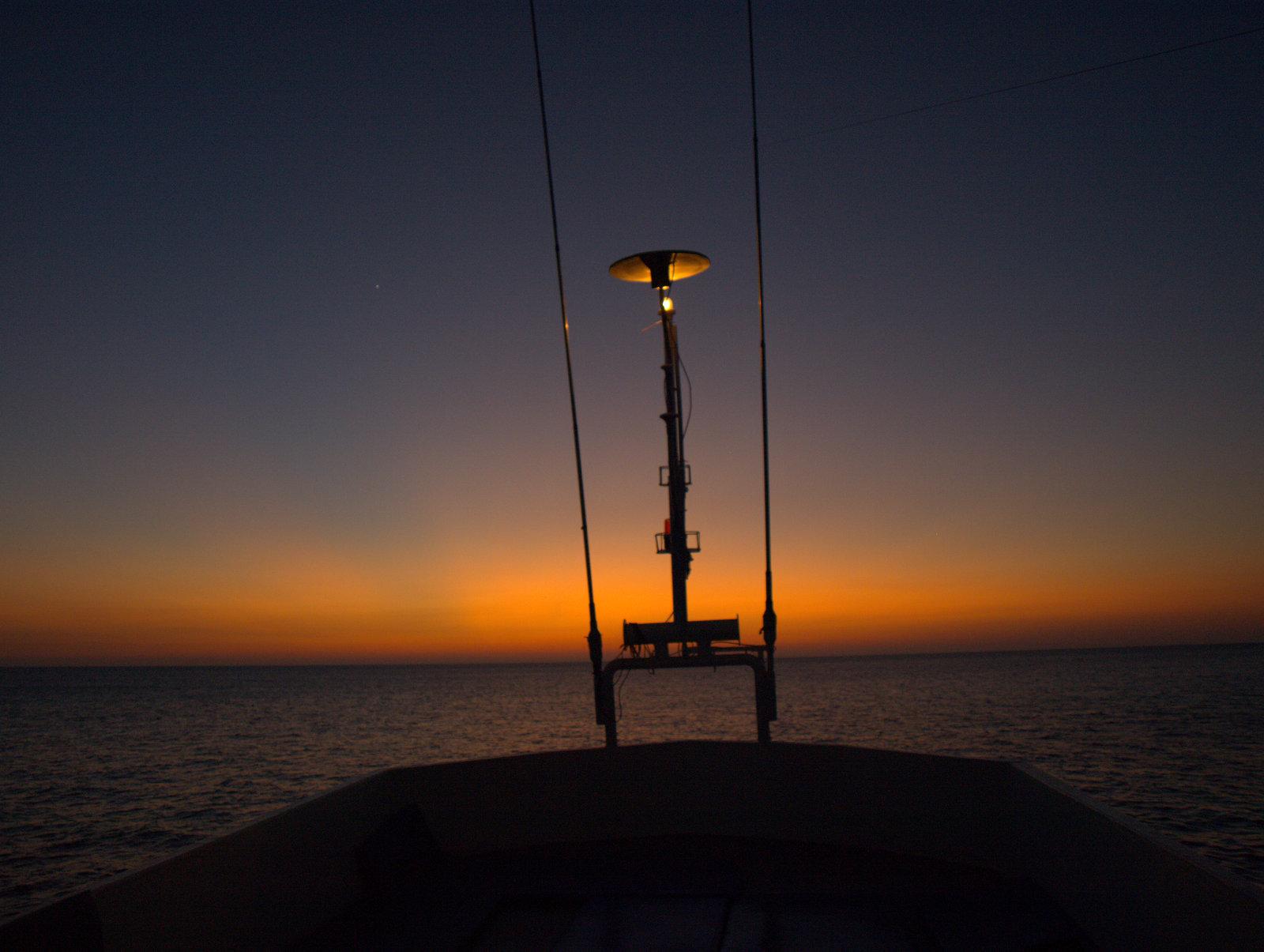 Stavnen i solnedgang