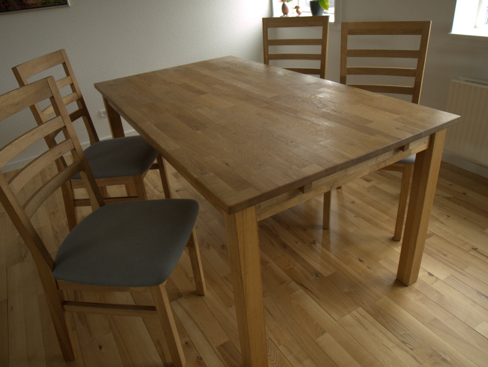 Det gamle spisebord